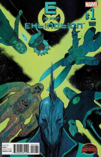 E is for Extinction #1 1:25 Harren Variant Marvel Secret Wars 2015 X-Men