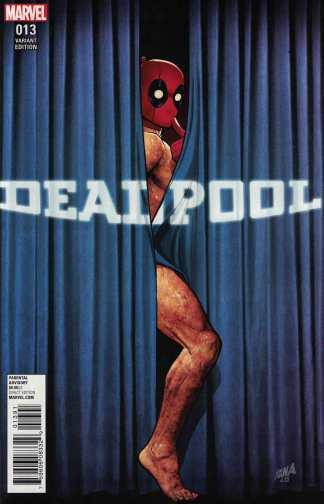 Deadpool #13 1:50 Nakayama Rebirth Pardy Variant Marvel ANAD 2015