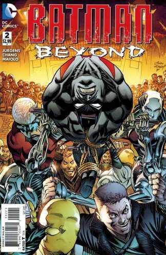 Batman Beyond #2 1:25 Andy Kubert Variant DC 2015