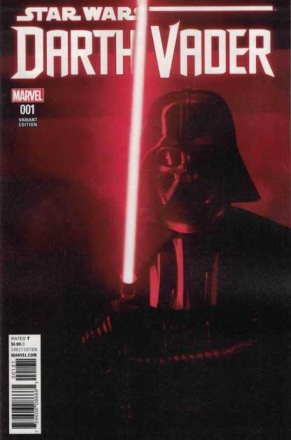 Star Wars Darth Vader #1 1:15 Movie Variant Marvel 2017 Star Wars