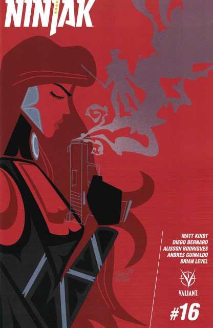 Ninjak #16 1:20 Veregge Variant Cover C Valiant 2015