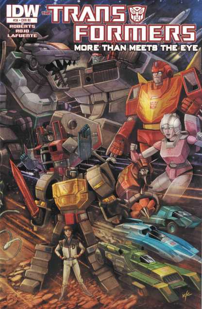 Transformers More Than Meets the Eye #34 1:10 Retailer Incentive Variant RI IDW