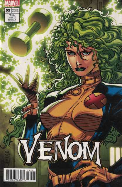 Venom #152 Jim Lee X-Men Trading Card Variant Marvel 2017 Polaris