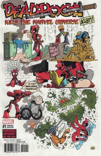 Deadpool Kills the Marvel Universe Again #1 1:10 Fosgitt Variant Marvel 2017