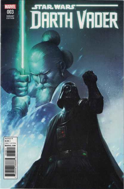 Star Wars Darth Vader #3 1:25 Giuseppe Camuncoli Variant Marvel 2017