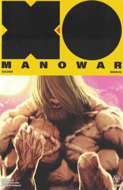 X-O Manowar #2 1:50 Kaare Andrews Cover E Valiant 2017