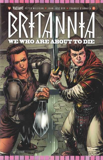 Britannia We Who Are About to Die #4 1:20 Gorham Variant Cover D Valiant 2017