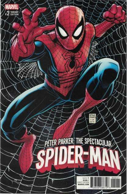 Peter Parker Spectacular Spider-Man #2 1:25 Arthur Adams Variant Marvel 2017