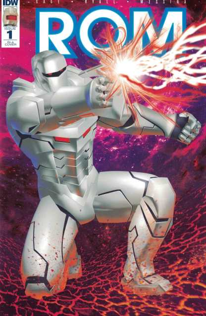 Rom #1 1:50 Michael Golden Retailer Incentive RI-A Variant IDW 2016 Space Knight