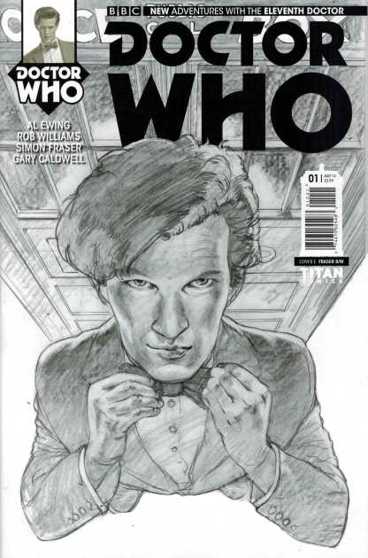 Doctor Who The Eleventh Doctor #1 1:25 Simon Fraser Variant