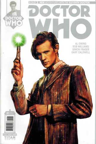 Doctor Who 11th Doctor #1 1:100 Variant Eleventh Titan 2014