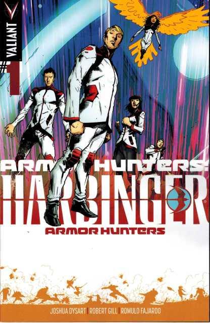 Armor Hunters Harbinger #1 1:25 Trevor Hairsine Variant Valiant 2014