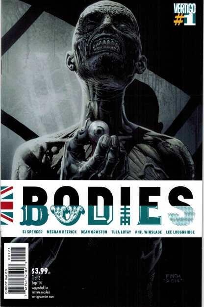 Bodies #1 1:10 David Finch Variant Vertigo