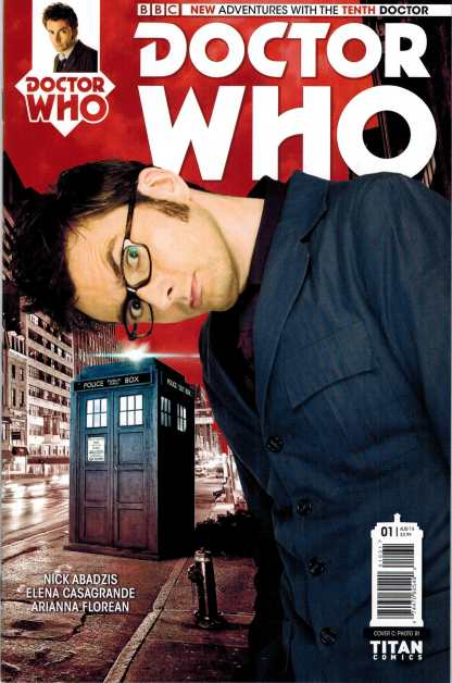 Doctor Who the Tenth Doctor #1 1:10 Photo Variant