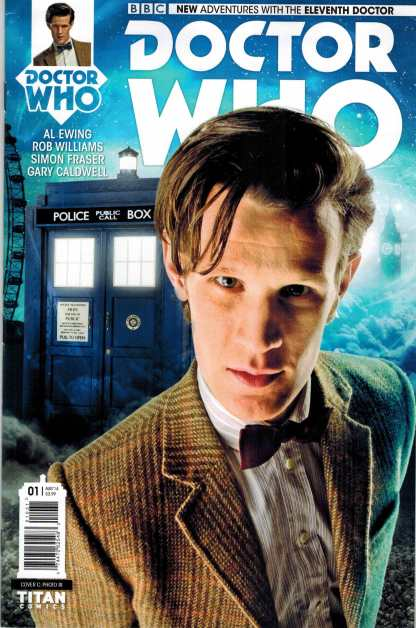Doctor Who the Eleventh Doctor #1 1:10 Photo Variant 2014
