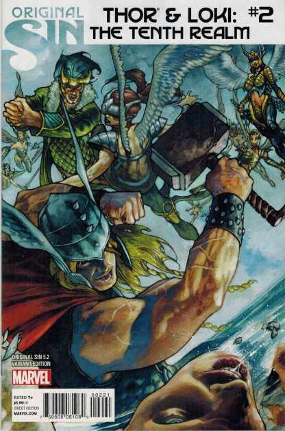 Original Sin 5.2: Thor and Loki the Tenth Realm #2 1:25 Simone Bianchi Variant