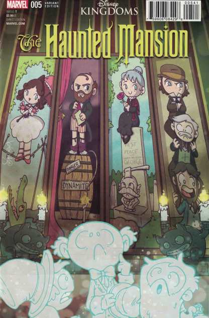 Haunted Mansion #5 1:10 Katie Cook Variant Marvel Disney Kingdoms 2016