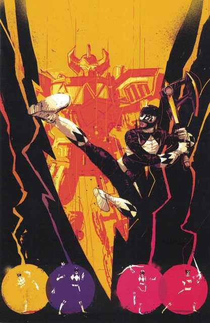 Mighty Morphin Power Rangers #5 1:50 Rossmo Variant Boom Studios 2016
