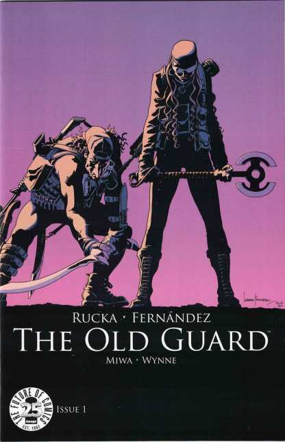 The Old Guard #1 Image 25th Anniversary Blind Box Color Variant 2017