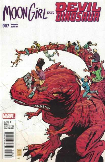 Moon Girl and Devil Dinosaur #7 1:15 June Brigman Classic Variant Marvel ANAD 2015