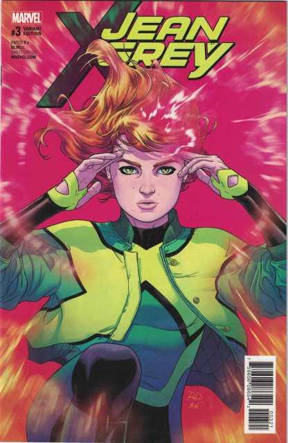 Jean Grey #3 1:25 Russell Dauterman Variant Marvel 2017