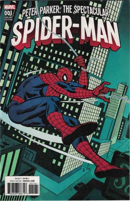 Peter Parker Spectacular Spider-Man #1 1:500 Ross Andru Variant Marvel 2017