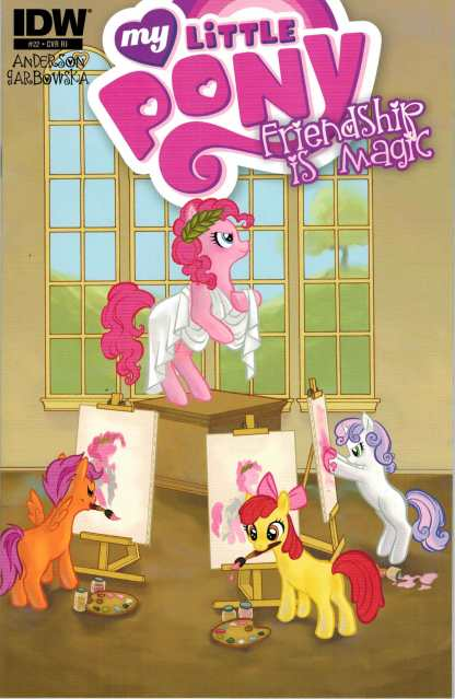 My Little Pony: Friendship is Magic #22 Retailer Incentive Variant #