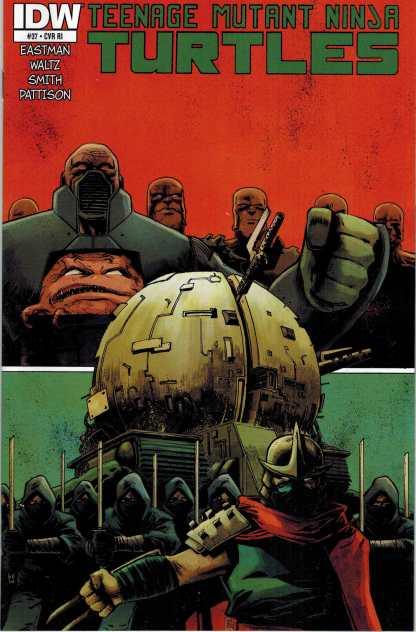 Teenage Mutant Ninja Turtles #37 Retailer Incentive Variant RI IDW