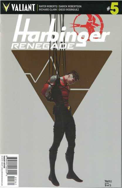 Harbinger Renegade #5 1:120 Monika Palosz Gold Foil Valiant Variant 2016
