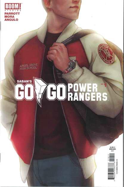 Go Go Power Rangers #1 1:10 Mercado Variant Boom 2017