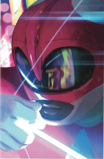 Power Rangers Pink #1 1:20 Helen Chen Virgin Variant Boom! 2016