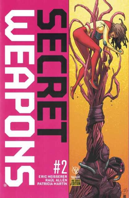 Secret Weapons #2 Pre-Order Edition Clayton Henry Variant Valiant 2017