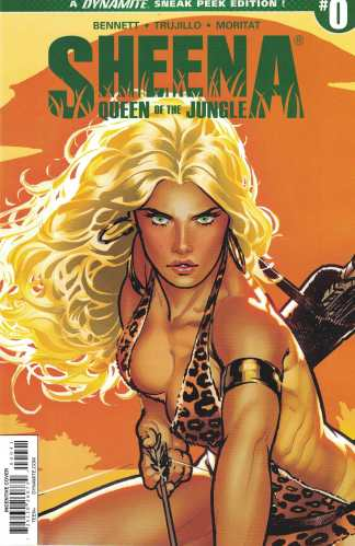 Sheena of the Jungle #0 1:50 Ryan Sook Variant Dynamite 2017