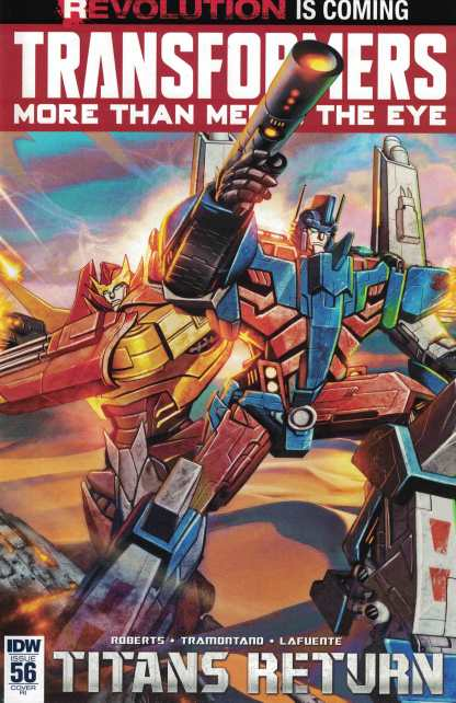 Transformers More Than Meets the Eye #56 1:10 Retailer Incentive Variant RI IDW