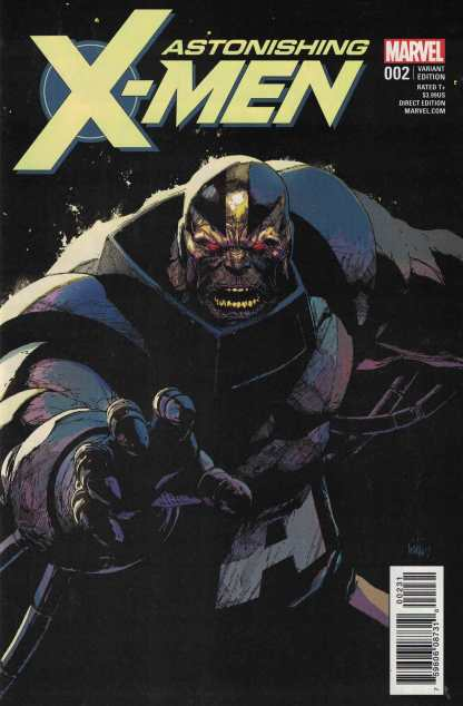 Astonishing X-Men #2 1:25 Yu Villain Variant Marvel 2017 Apocalypse