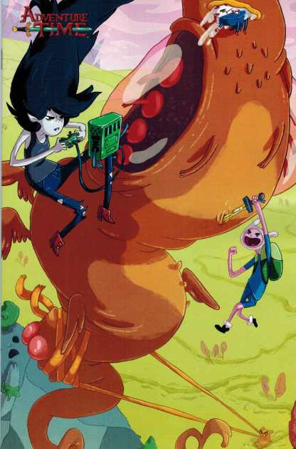Adventure Time #31 1:10 Retailer Incentive Variant Cover C Kaboom 2014