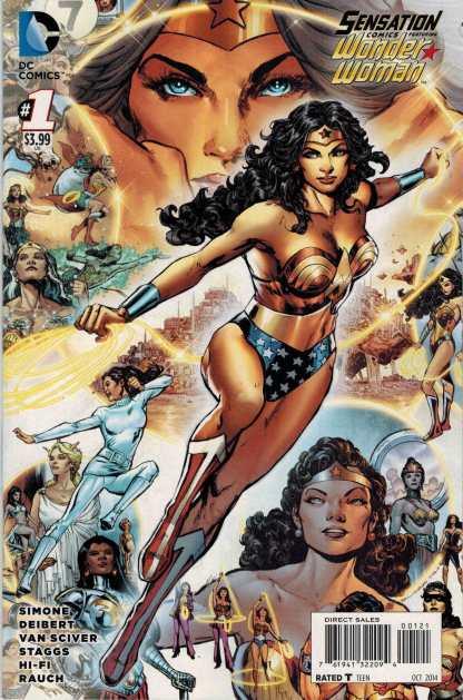 Sensation Comics Featuring Wonder Woman #1 1:25 Phil Jimenez Variant
