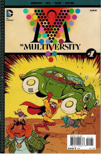 Multiversity #1 1:25 Chris Burnham Captain Carrot Variant DC 2014 Grant Morrison
