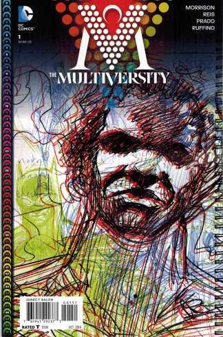 Multiversity #1 1:100 Grant Morrison Variant