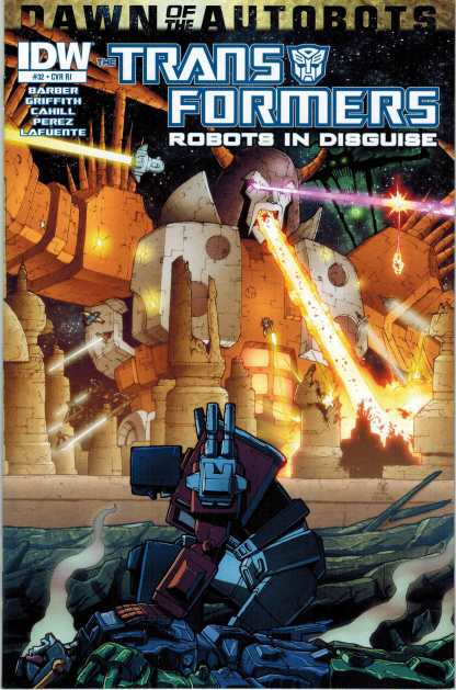 Transformers: Robots in Disguise #32 1:10 Retailer Incentive Variant RI