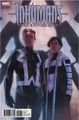 Inhumans Once & Future Kings #1 1:25 Phil Noto Character Variant Marvel 2017