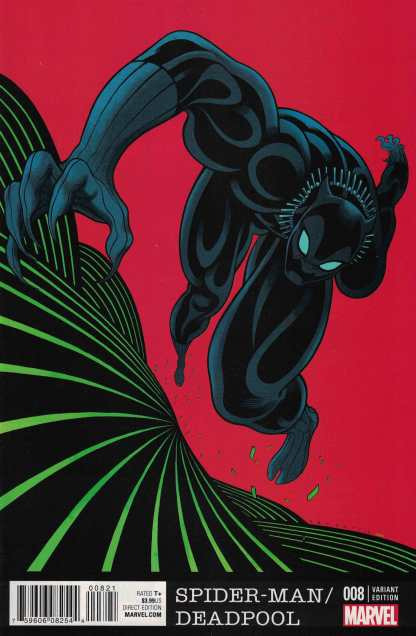 Spider-Man Deadpool #8 Tradd Moore Black Panther 50th Anniversary Variant