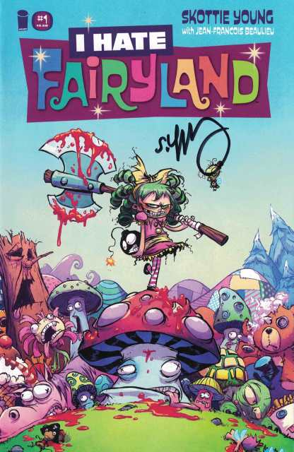 I Hate Fairyland #1 First Printing Signed by Skottie Young Image 2015