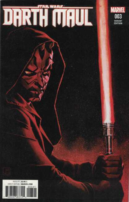 Star Wars Darth Maul #3 1: 25 Jorge Molina Variant Marvel 2017