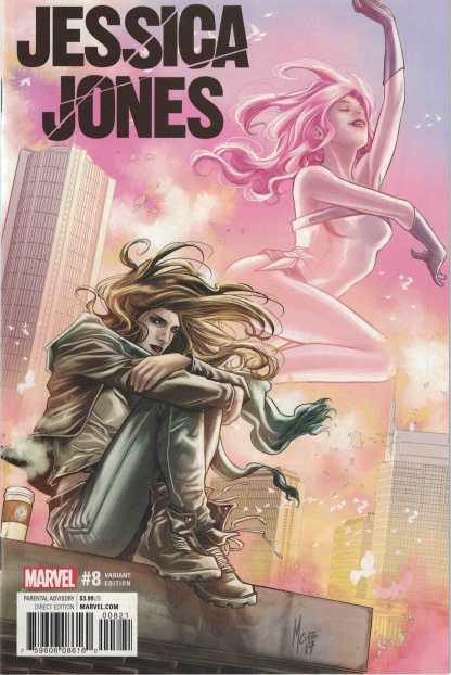 Jessica Jones #8 Marco Checchetto Variant Marvel 2016