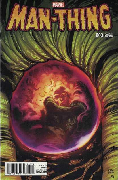 Man-Thing #3 1:25 Leonard Kirk Variant Marvel 2017 RL Stein