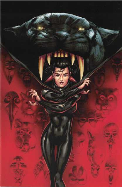 Miss Fury Vol 2 #5 1:25 Jonathan Lau Virgin Variant Dynamite 2016