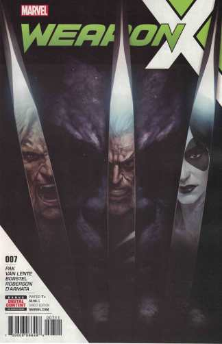 Weapon X #7 Skan Cover A Marvel 2017 First Print Weapon H X-Men