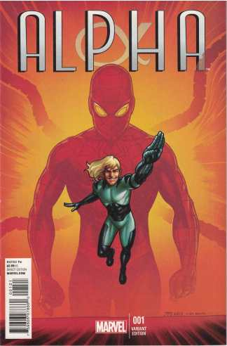 Alpha #1 1:50 Joe Quinones Spider-Man Variant Marvel NOW 2013 Big Time