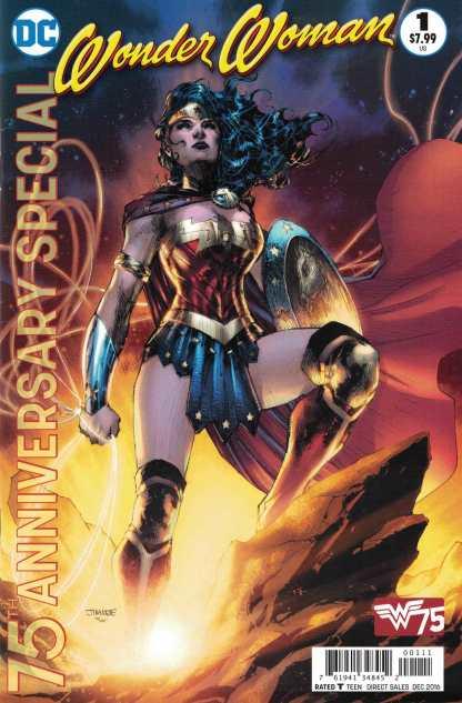 Wonder Woman 75th Anniversary Special #1 Jim Lee DC 2016